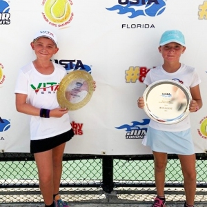 Girls' Champion - Taylor Alcott, 2nd - Elizabeth Patsula