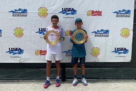 Boys' 12s Winners: Jerrid Gaines Jr., Jordan Lee