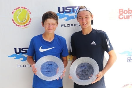 Boys' 14s Finalists: Jack Satterfield, Nathan Germino