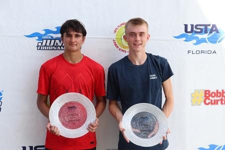 Boys' 18s Finalists: Maxim Michaels, Zak Vince