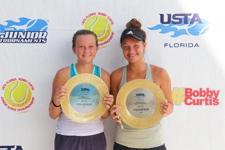 Girls' 14s Winners: Sara Shumate, Bella Payne