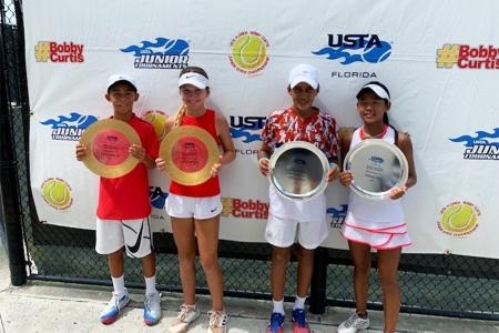 Mixed 12s Winners: Jordan Lee, Ana Avramovic Finalists: Jerrid Gaines Jr., Anita Tu