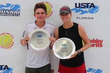 Mixed 16s Finalists: Ben Saltman, Savannah Webster