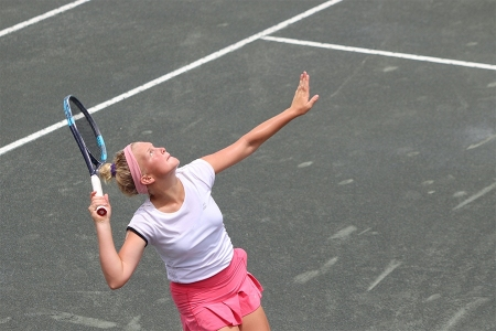 Girls' 12s division winner: Anastasiia Rychkova