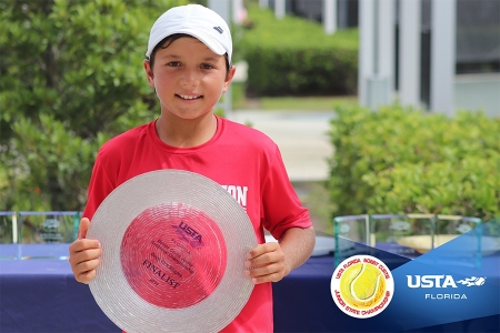 Boys' 12s Finalist: Teodor Davidov