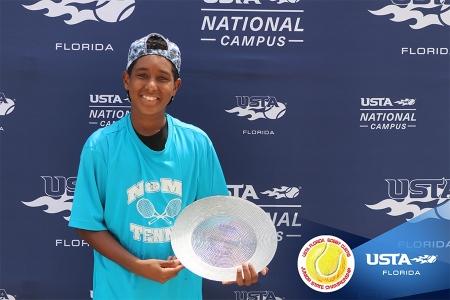 Boys' 14s Finalist: Yubel Ubri