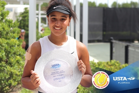 Girls' 14s Finalist: Gabriella Rawles