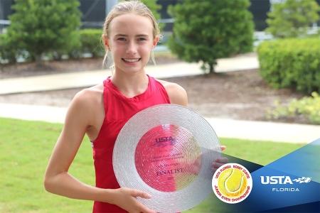 Girls' 12s Finalist: Abigail Gordon