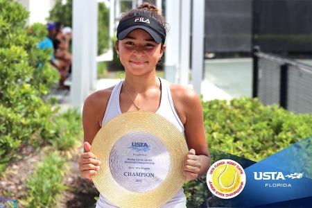Girls' 14s Winner: Lauren Kettlewell