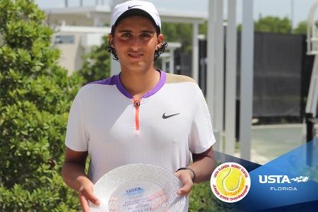 Boys' 18s Finalist: Kian Vakili