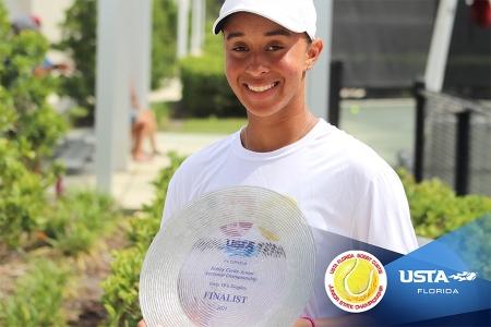 Girls' 18s Finalist: Ahmani Guichard