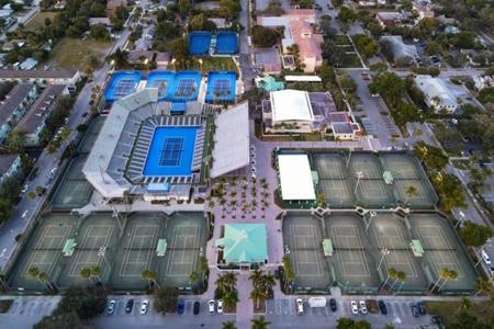 Delray Beach Tennis Center (photo credit: JCD Sports)