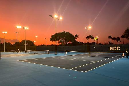 HCC Tennis Center (photo credit: Chris Nyholm)