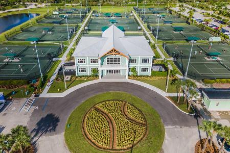 Palm Beach Gardens Tennis and Pickleball Center (photo credit: Wendy Tatum)