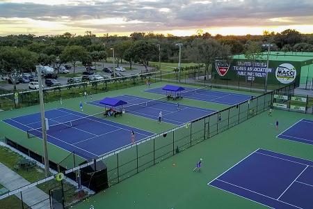 Rick Macci Tennis Center (photo credit: Farrah Macci)