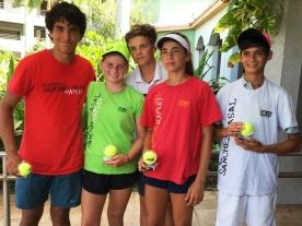 14-18U Intermediate Winners - Spanish Power Tennis