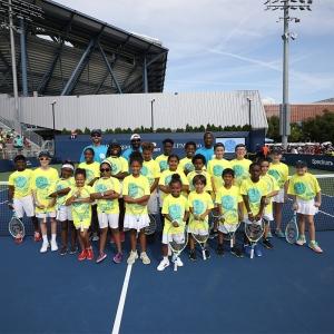 Net Generation kids at 2019 US Open