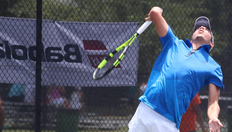 Featured News_Jr 18s Serving Babolat Banner