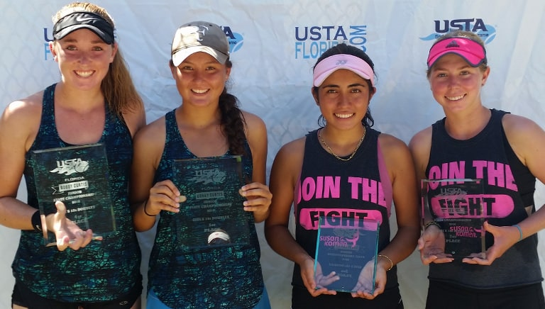 Girls Repeat, Twins Win at 2016 USTA Florida State Jr