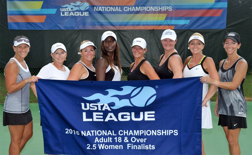 The USTA League Nationals women's 2.5 runners-up from Jacksonville