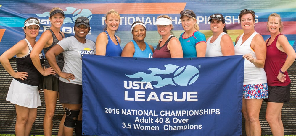The Orange Park 40 & Over 3.5 women national champions