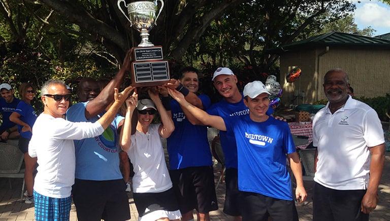 Broward Celebrates, USTA Florida League Championship Cup Embarks on