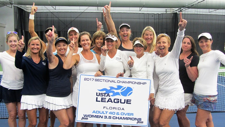 Miami Reaches 3 Finals at USTA Florida 40 & Over League