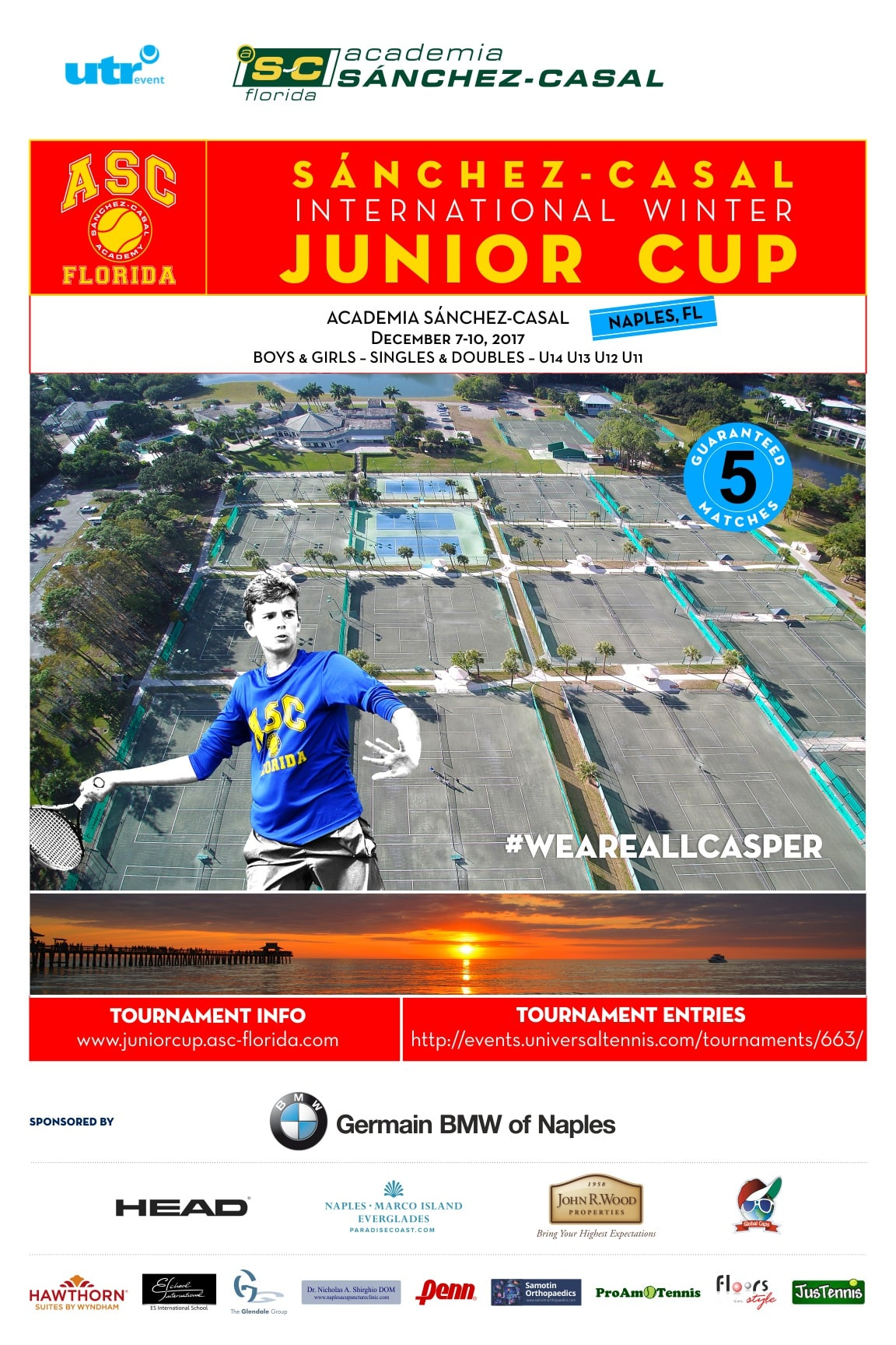 Sanchez-Casal International Winter Junior Cup - USTA Florida