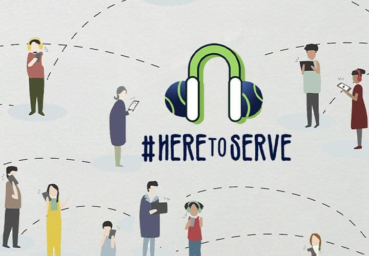 Here to Serve podcast series