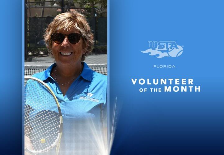 Mary Conaway_USTA Florida Volunteer of the Month