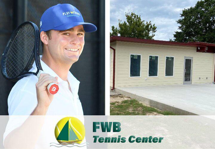 FWB New Head Pro Travis Tressler, New Tennis Pro Shop