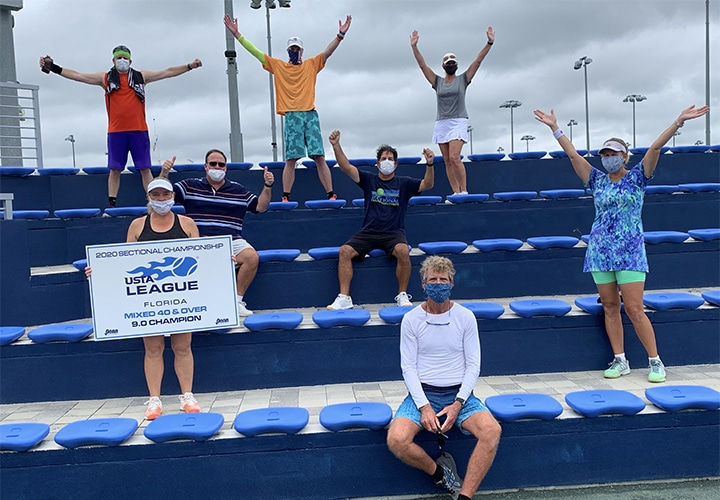 Broward, Pinellas Victorious at Mixed 40 & Over 7.0/9.0 Sectionals