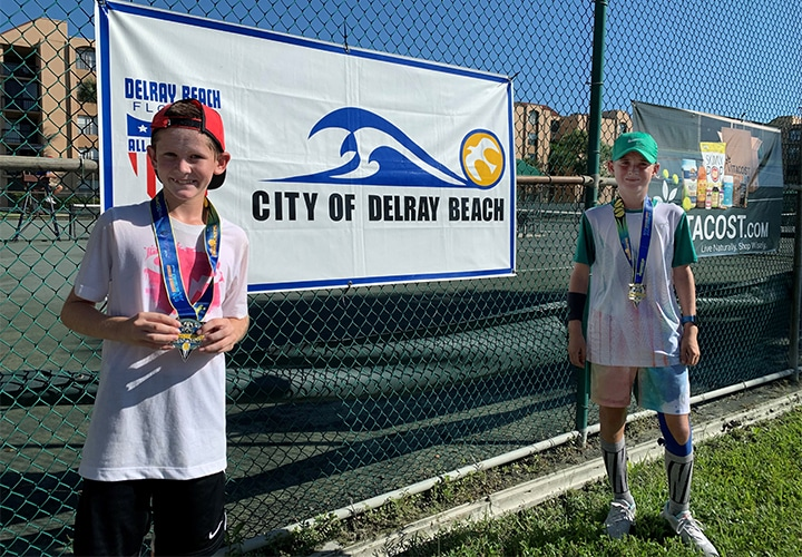 """First-Time Winners Dominate 12s, 14s at 2020 """"Bobby Curtis"""" Junior Section Championships"""