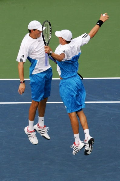 Bryan Brothers famous chest bump