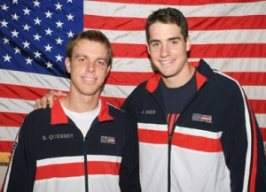 Big men Sam Querrey and John Isner have shouldered U.S. men's tennis from on high