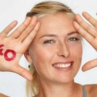sharapova 40 love